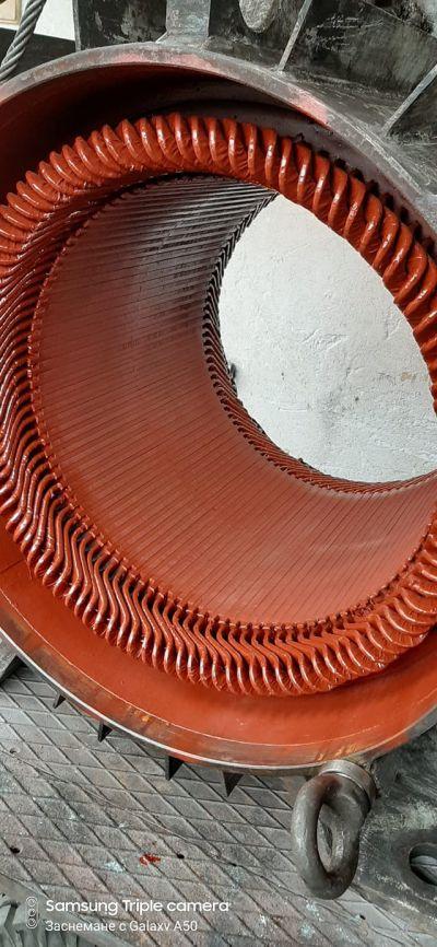 Кранов двигател на пристанище Лом - Памс 9 - Видин